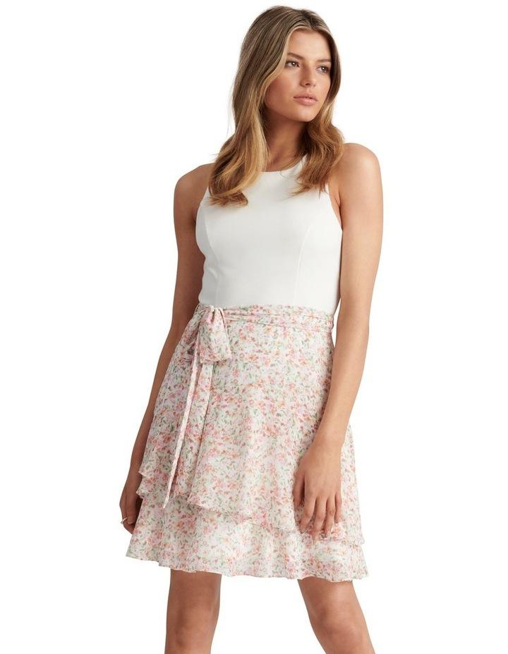 Mila 2 In 1 Mini Dress Harlow Ditsy image 1