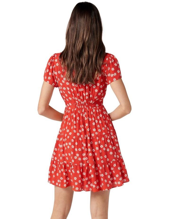 Lauren Mini Sun Dress Red Providence Ditsy image 3