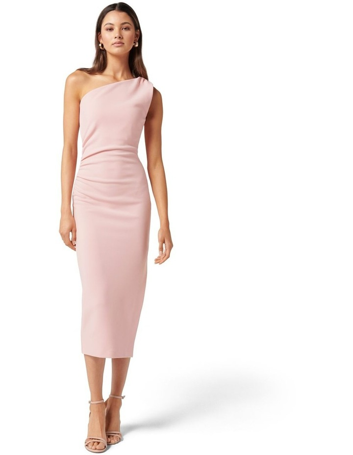 Shiloh Bodycon Midi Dress Soft Pink image 1