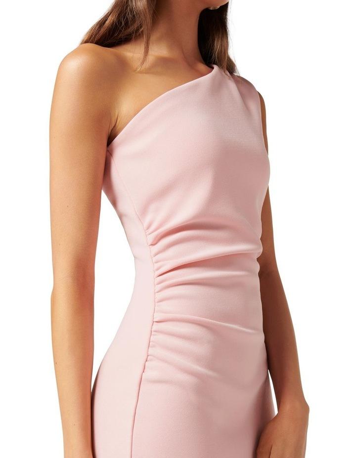 Shiloh Bodycon Midi Dress Soft Pink image 2