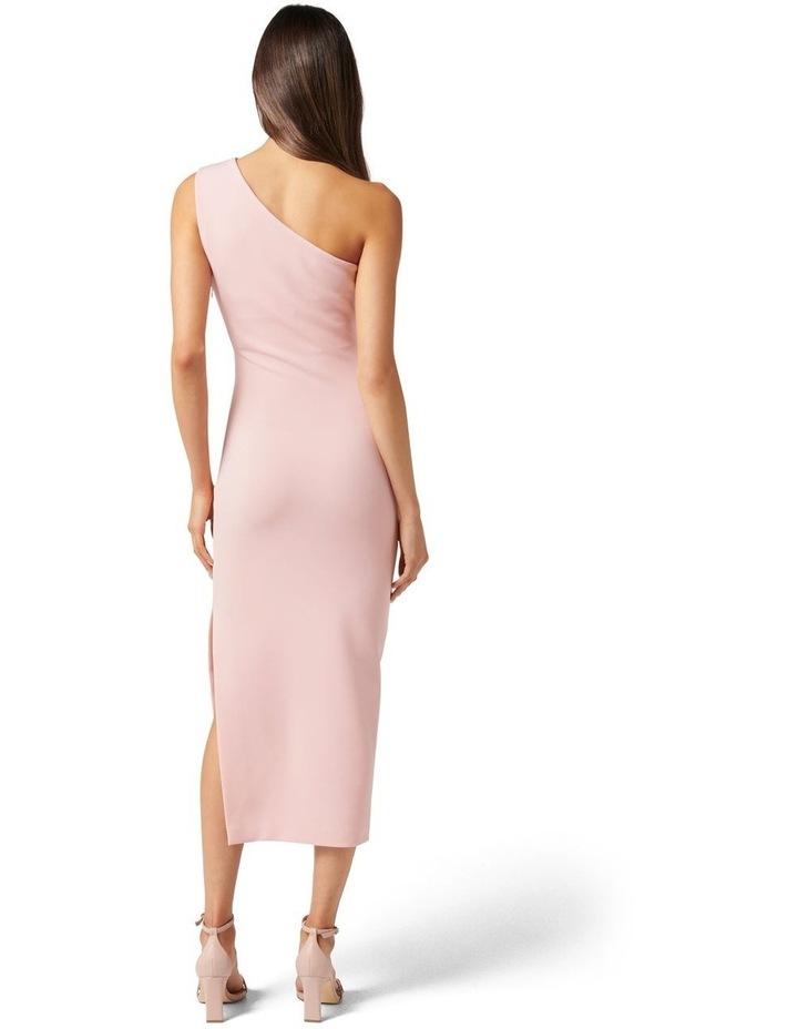 Shiloh Bodycon Midi Dress Soft Pink image 4