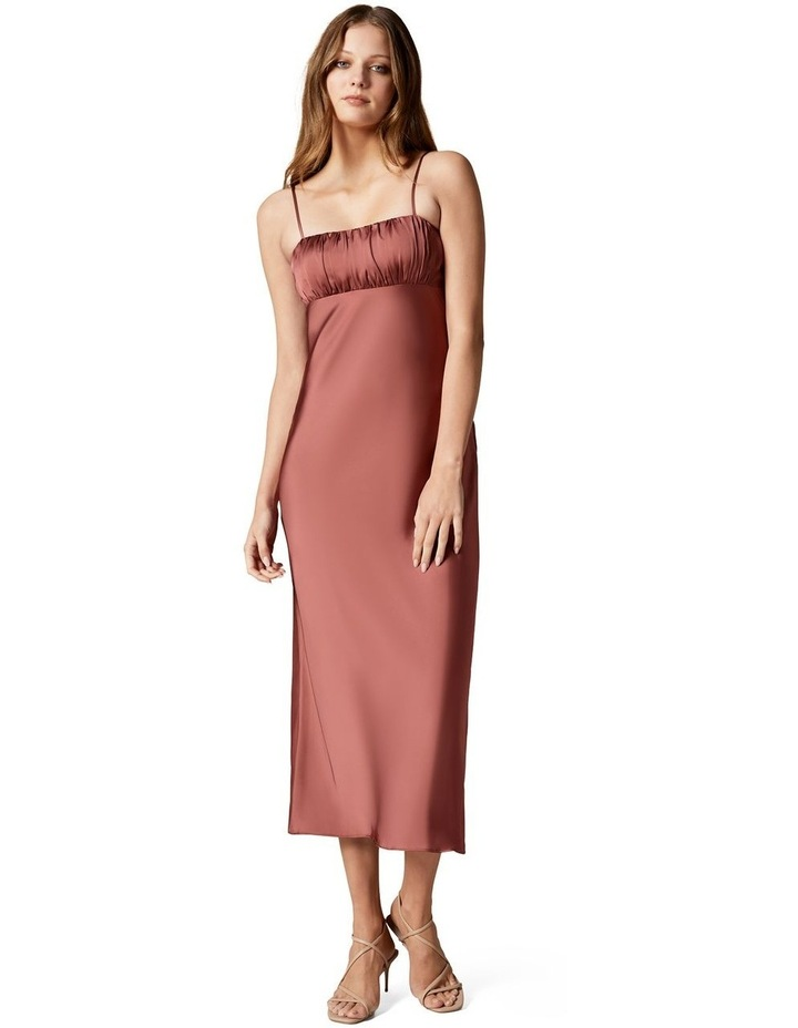 Christina Strappy Split Midi Dress image 1
