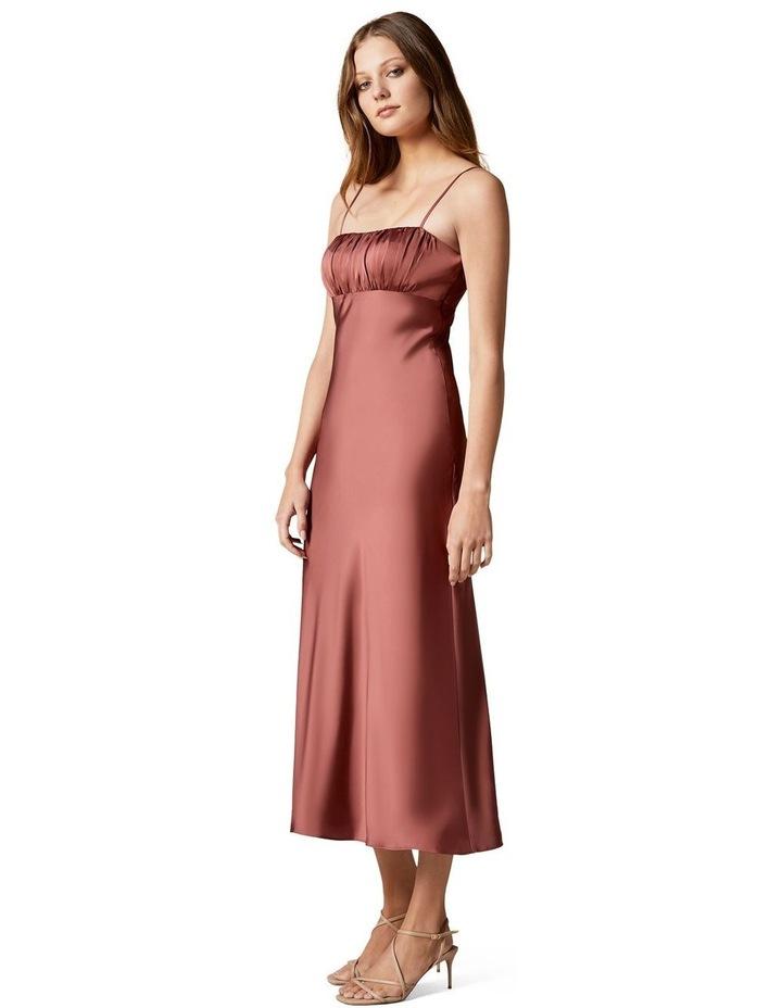 Christina Strappy Split Midi Dress image 3