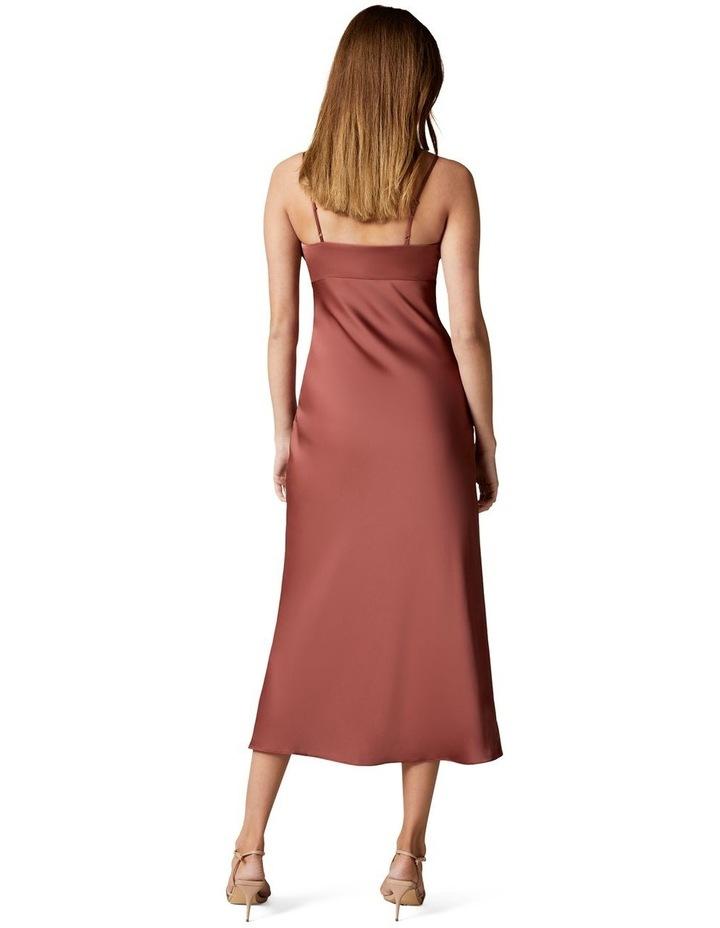 Christina Strappy Split Midi Dress image 4