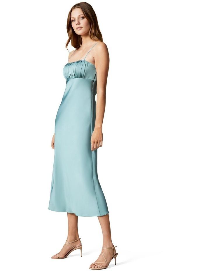 Christina Strappy Split Midi Dress image 2