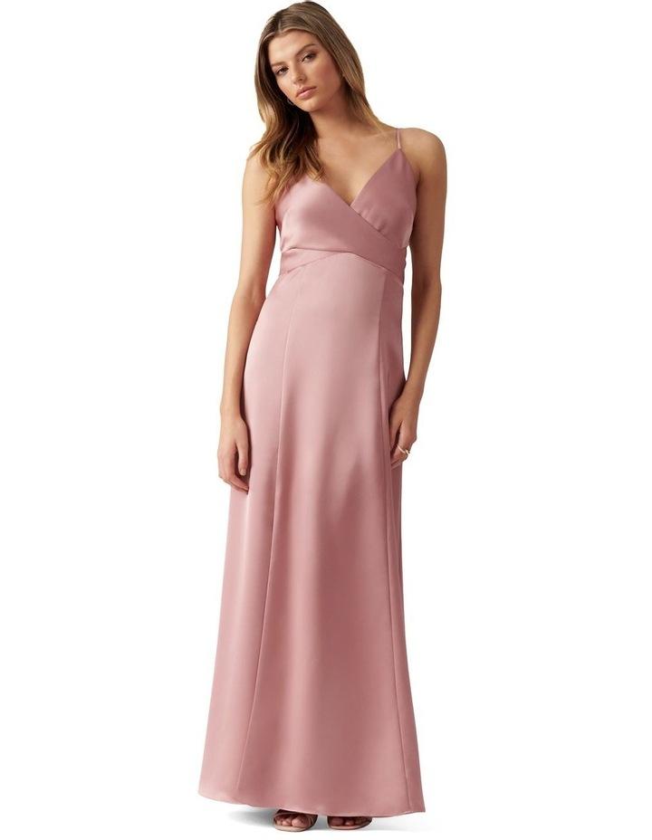 Carley Strappy Wrap Maxi Dress image 1