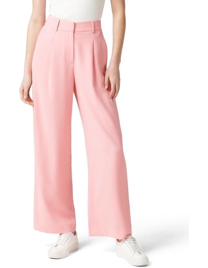 Primrose High Waisted Wide Leg Pants Candy Pink image 1