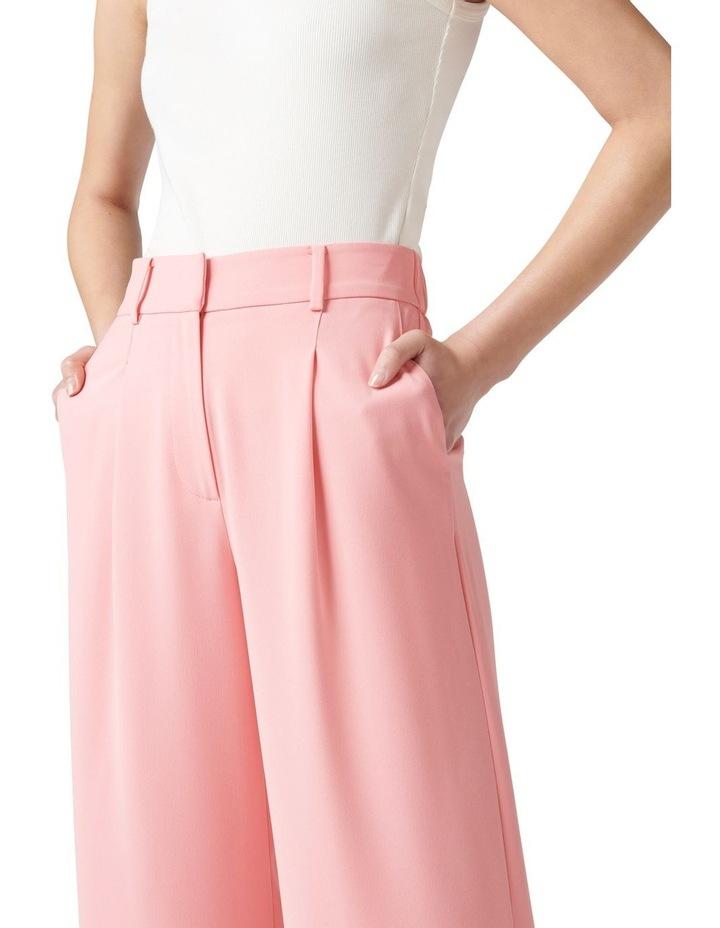 Primrose High Waisted Wide Leg Pants Candy Pink image 2