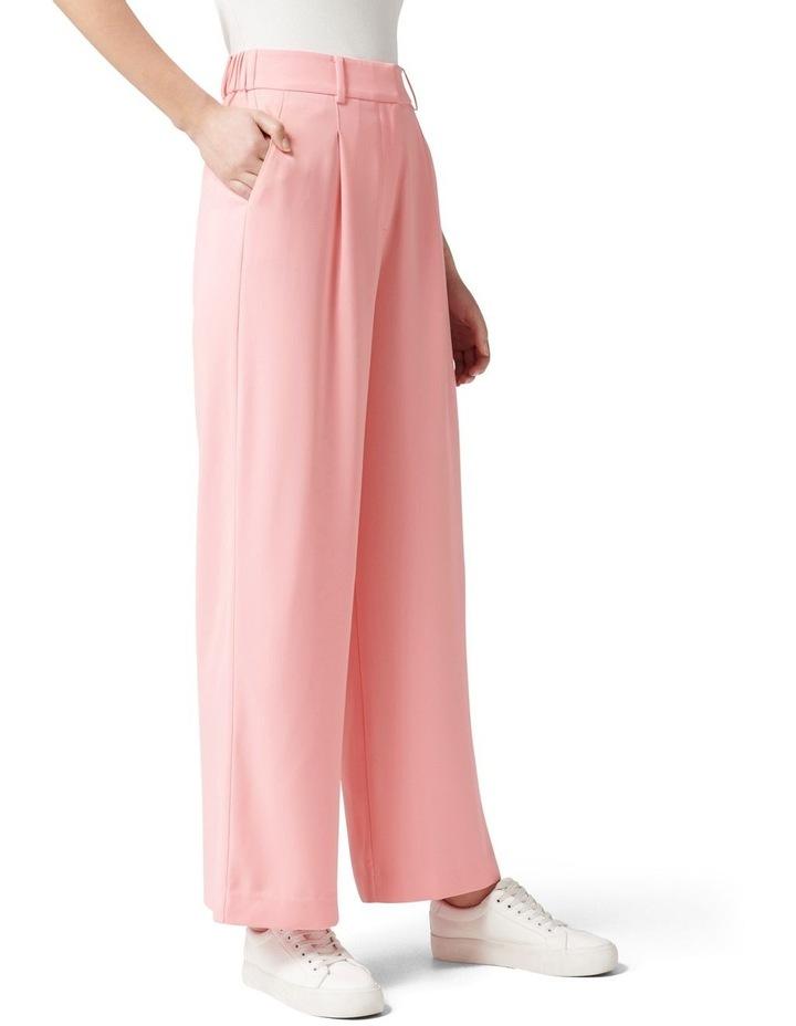 Primrose High Waisted Wide Leg Pants Candy Pink image 3
