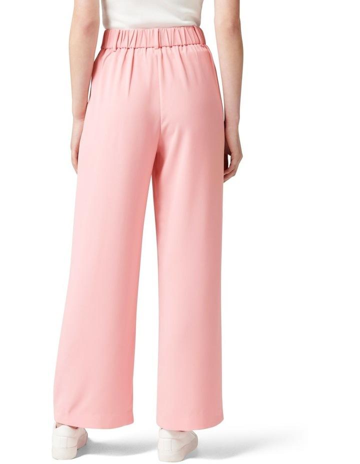 Primrose High Waisted Wide Leg Pants Candy Pink image 4