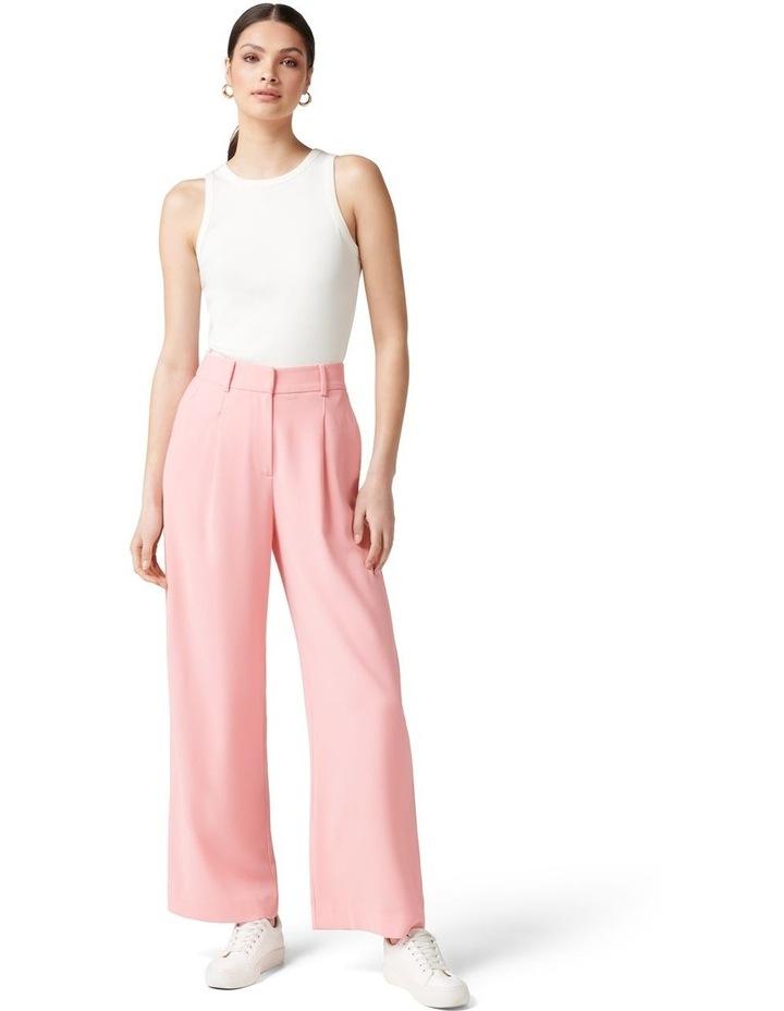 Primrose High Waisted Wide Leg Pants Candy Pink image 5