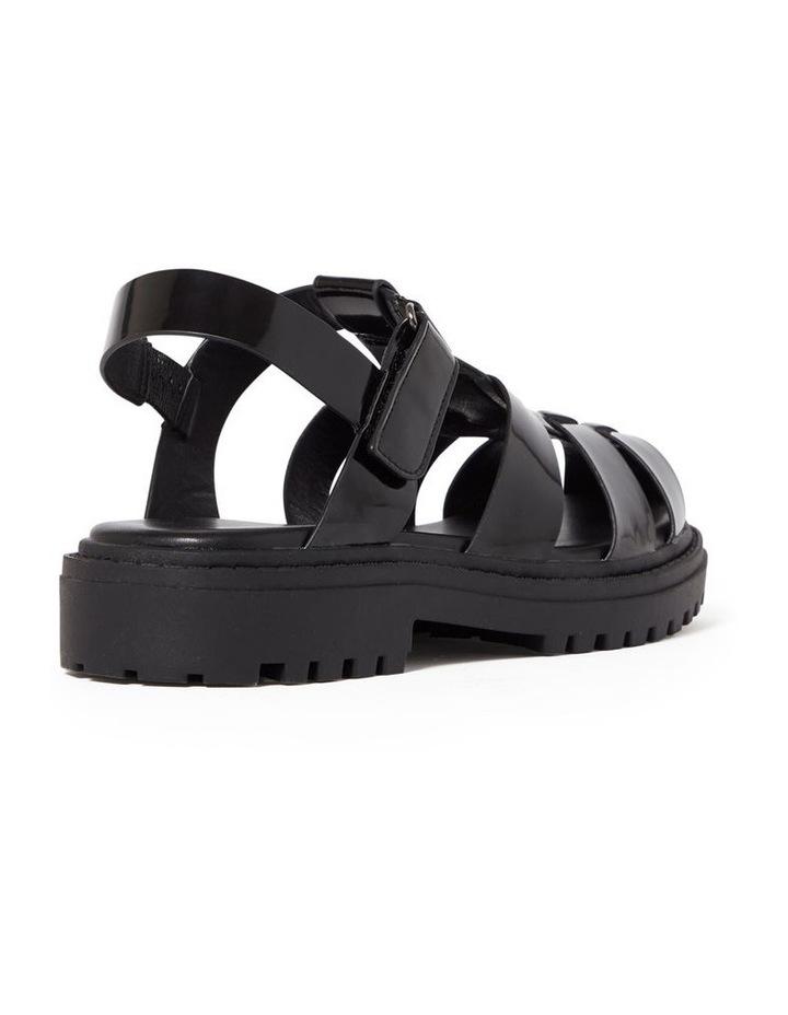 Poppy Black Chunky Sandal image 3