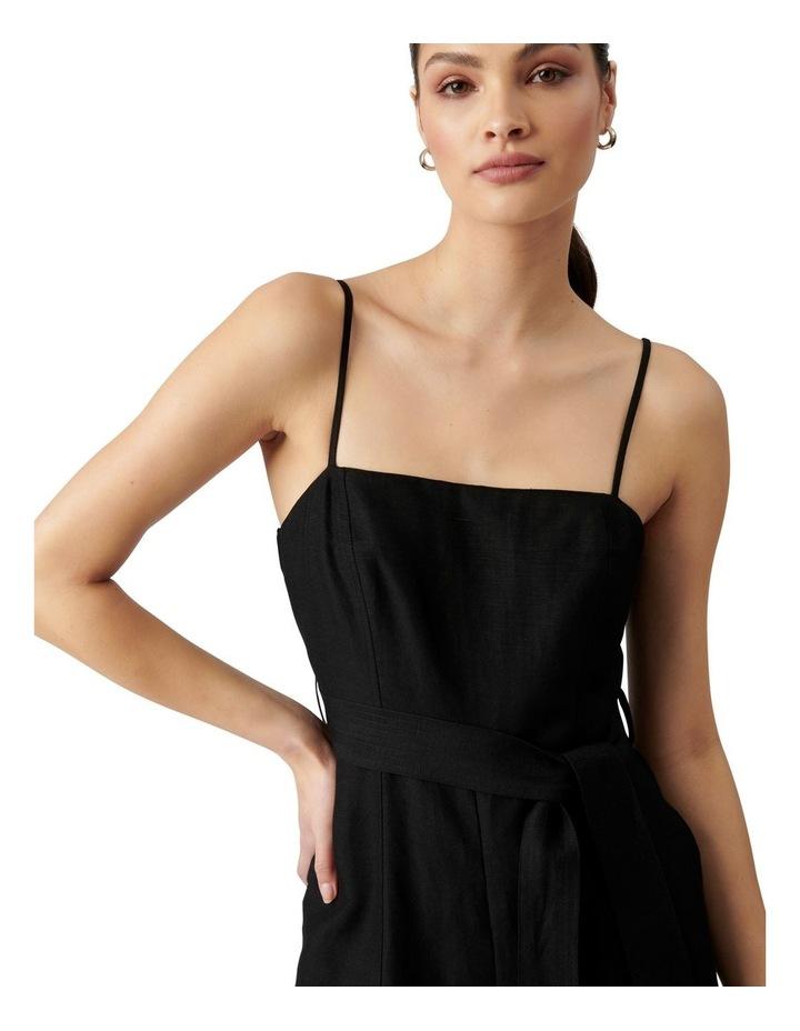Avery Petite Tie Waist Jumpsuit Black image 1