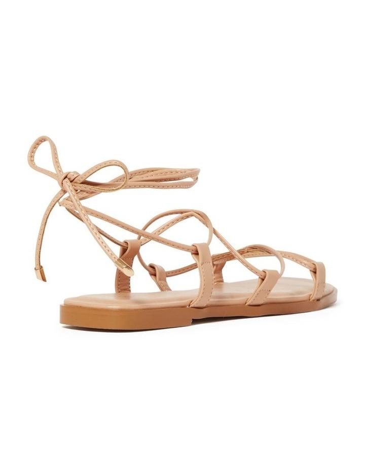 Sarah Nude Wrap Sandal image 2
