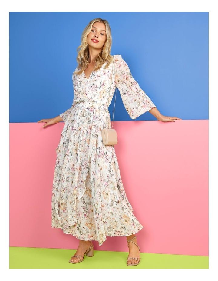 Candice Layered Midi Dress Mayfair Floral image 2