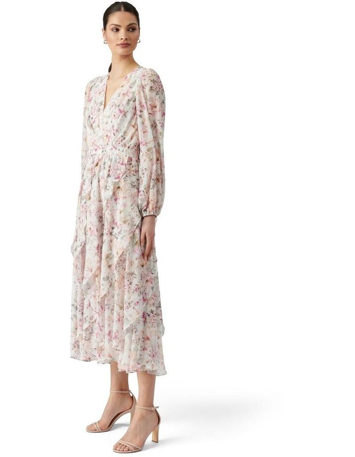 Candice Layered Midi Dress Mayfair Floral image 4