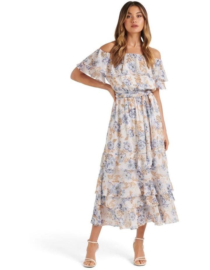 Eugina Off Shoulder Maxi Dress Winfields Floral image 1
