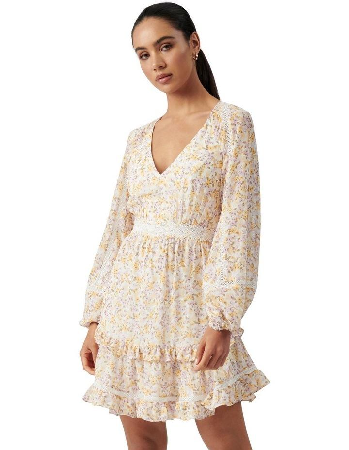 Jane Trim Splice Mini Dress Geneva Ditsy image 1