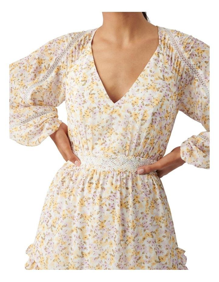 Jane Trim Splice Mini Dress Geneva Ditsy image 2