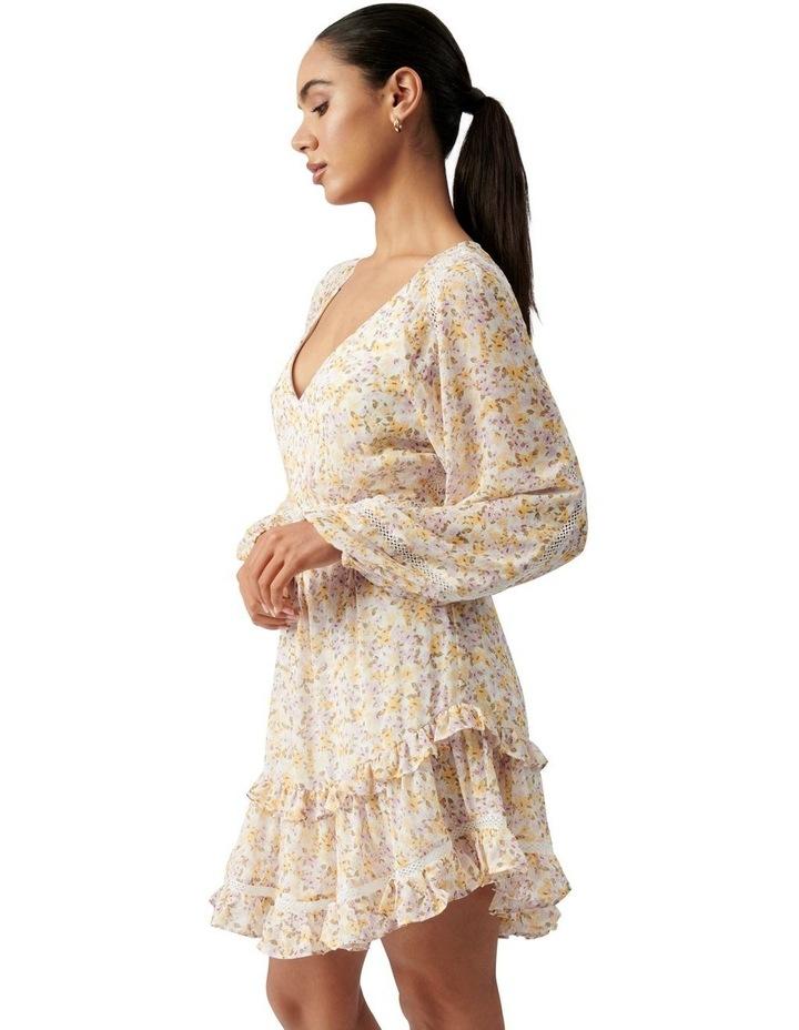 Jane Trim Splice Mini Dress Geneva Ditsy image 3
