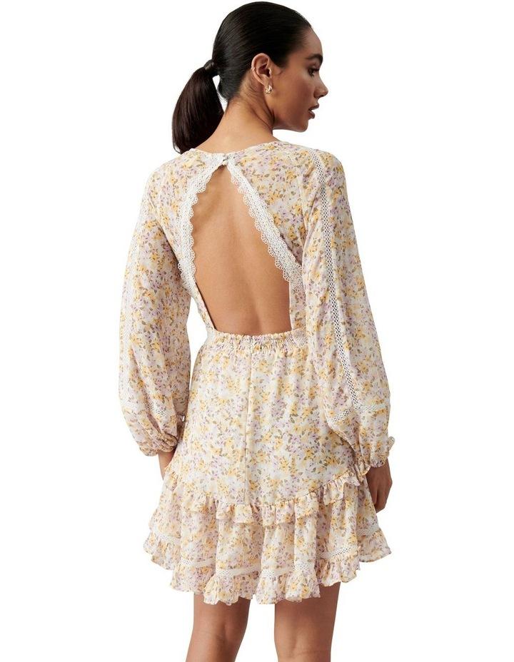 Jane Trim Splice Mini Dress Geneva Ditsy image 4