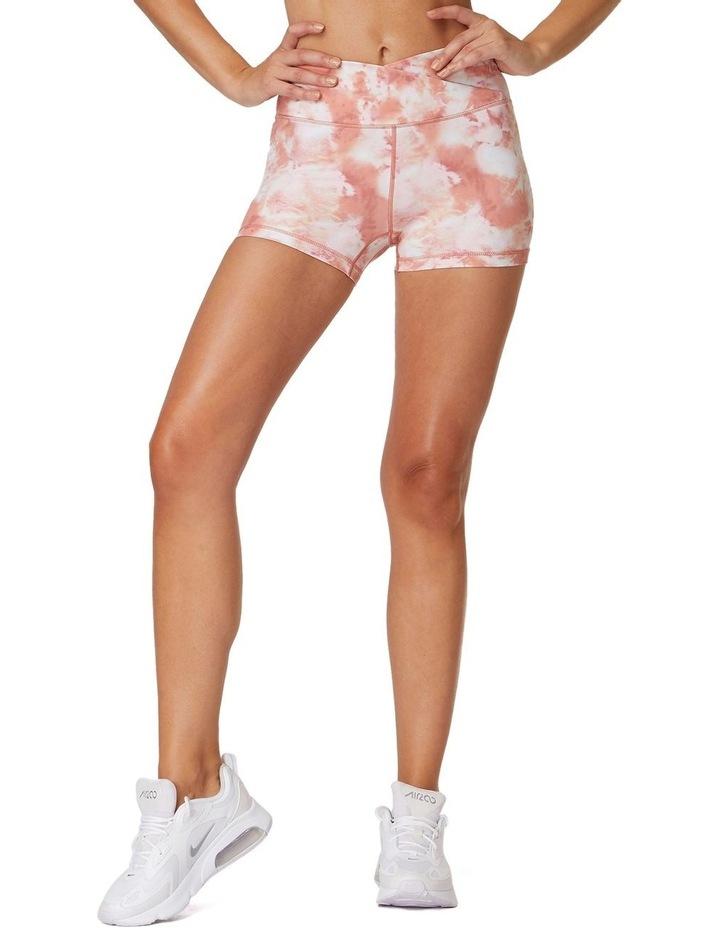 Pink Rock Yoga Shorts image 1