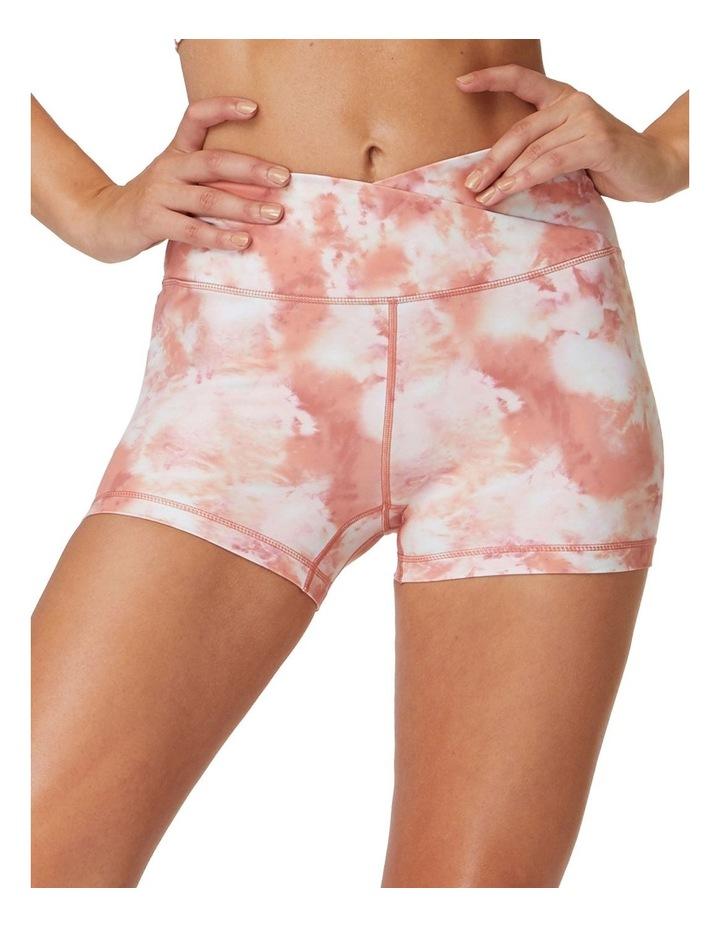Pink Rock Yoga Shorts image 4