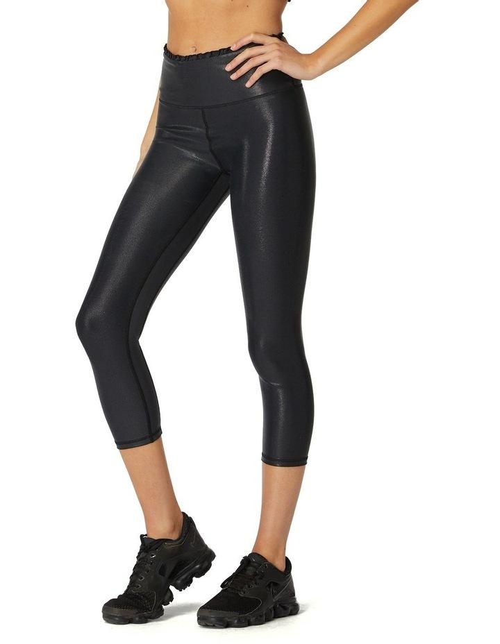 Black Pearl 3/4 Leggings image 2