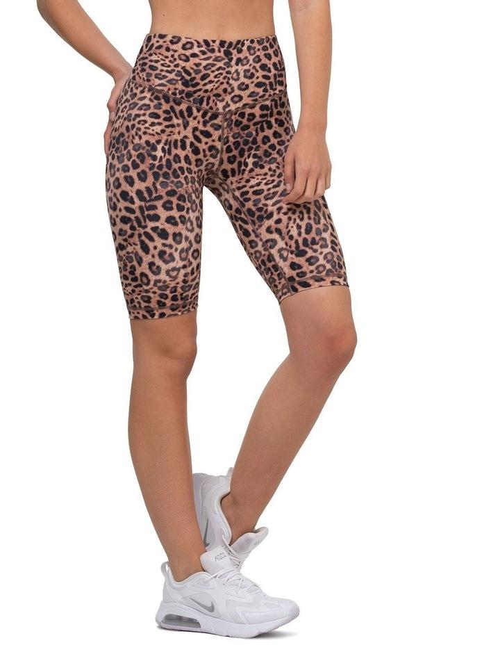 Leopard Valley Bike Shorts image 1