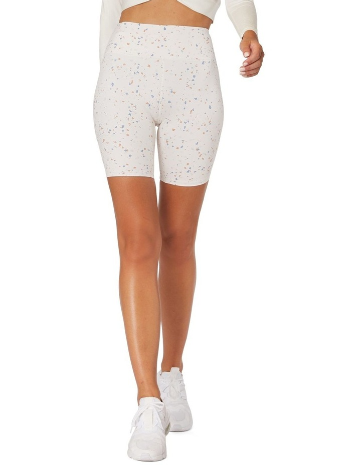 Speckled Sky Sports Shorts White image 1