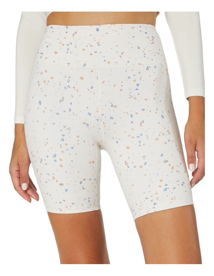 Speckled Sky Sports Shorts White image 4
