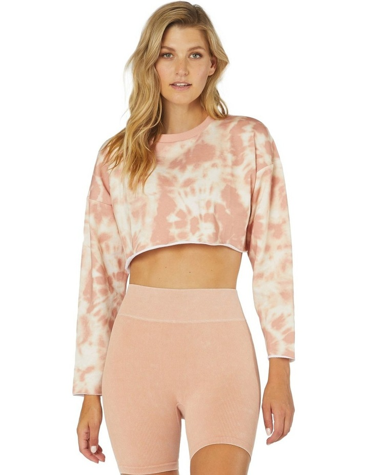 Hollistic Cropped Sweater Gold image 1