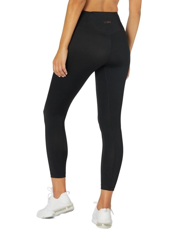 Rose Basics 7/8 Sports Leggings Black image 3