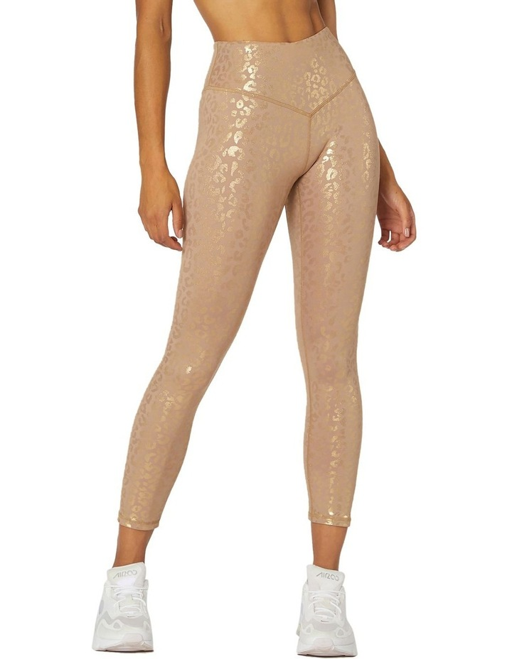 Reflections 7/8 Sports Leggings Brown image 1