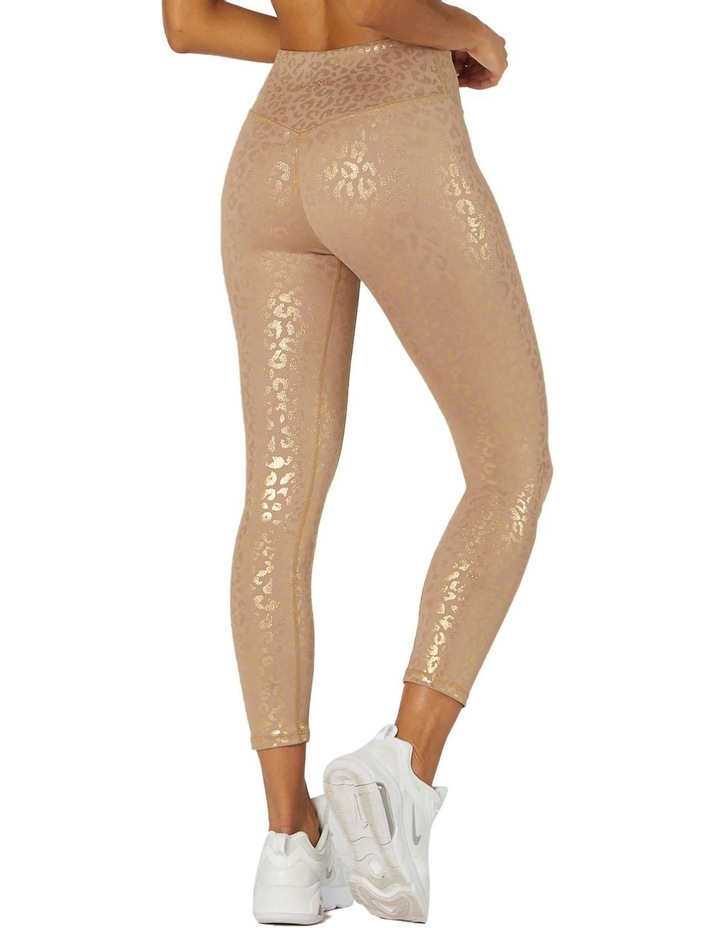 Reflections 7/8 Sports Leggings Brown image 3