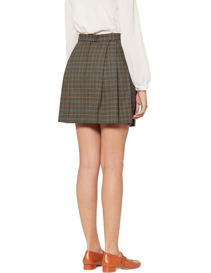 Nina Check Skirt image 3