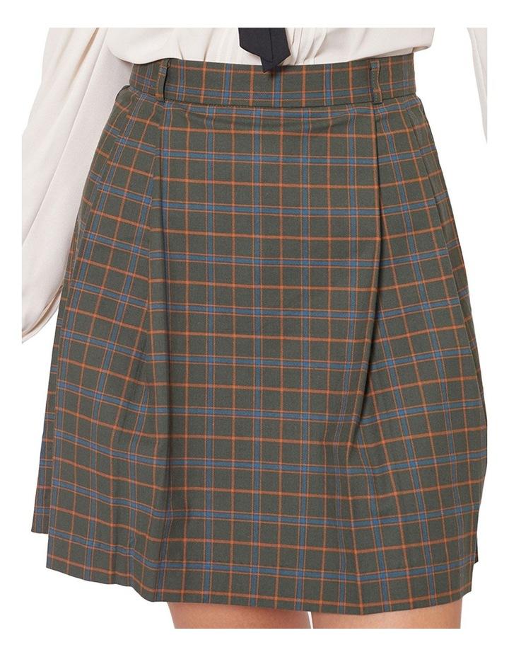 Nina Check Skirt image 4