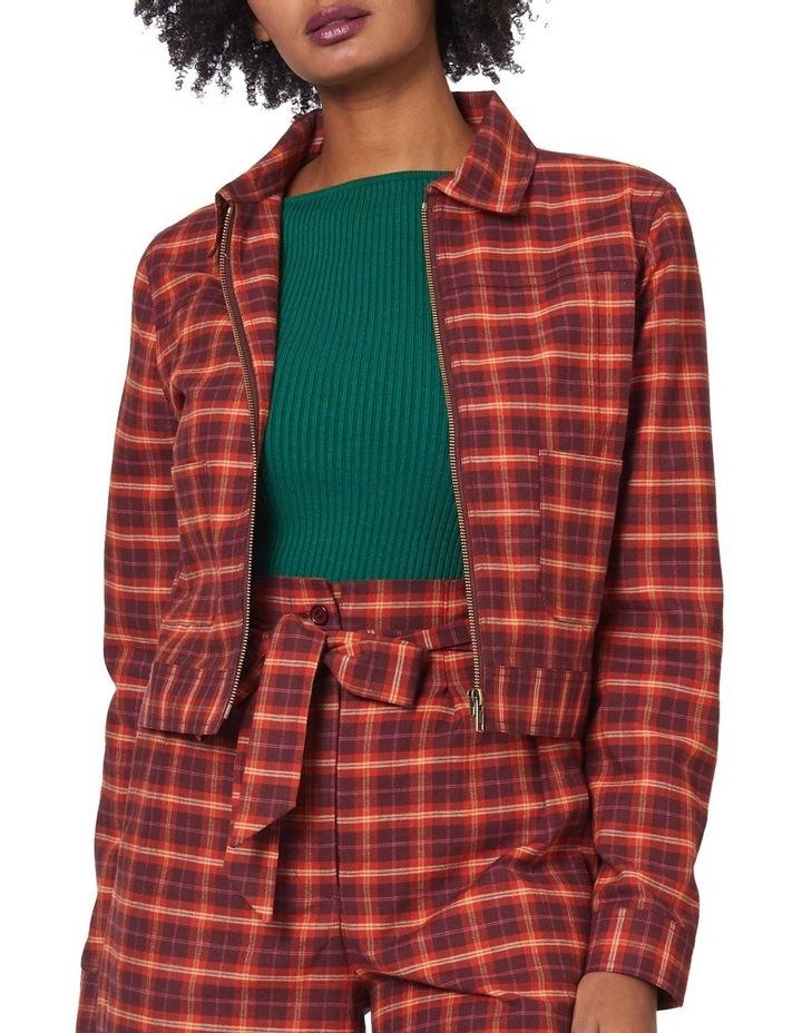 Chloe Check Jacket image 4