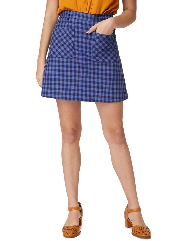Jacky Check Skirt image 1