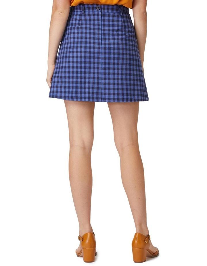 Jacky Check Skirt image 3