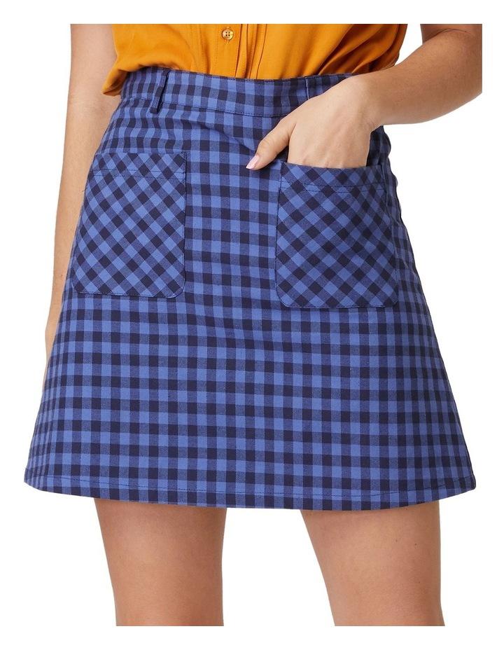 Jacky Check Skirt image 4