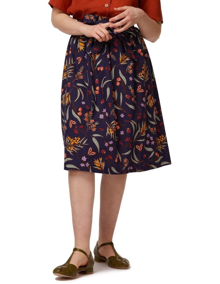 Golden Flora Skirt image 1