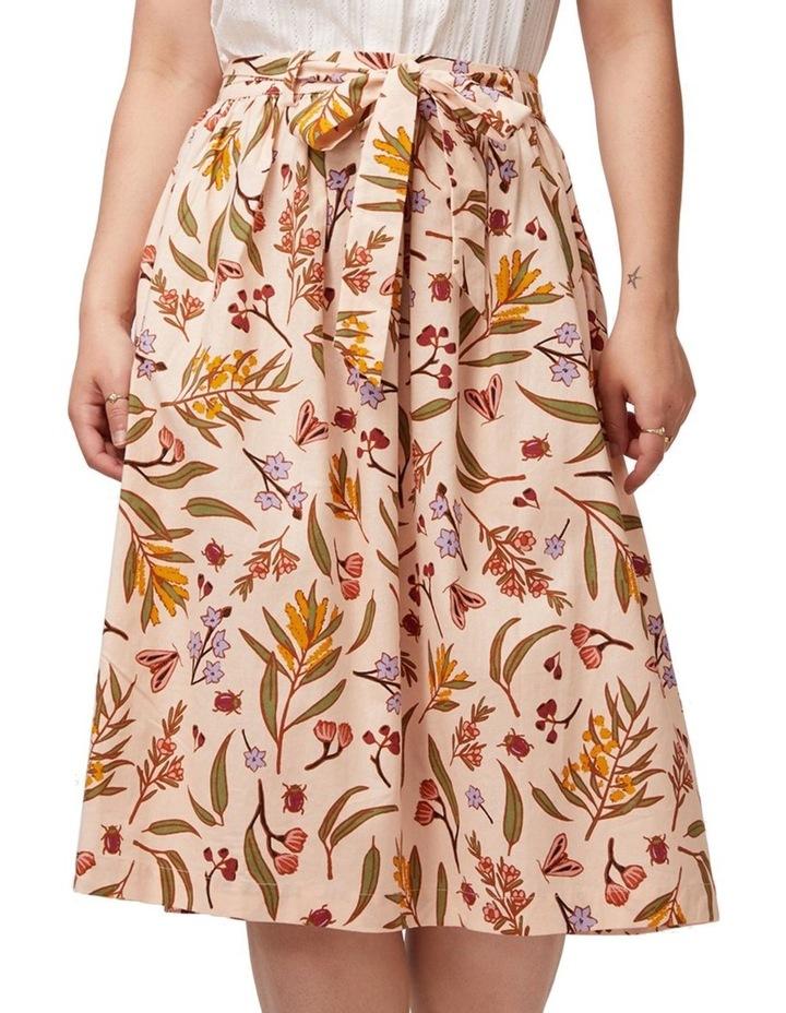 Golden Flora Skirt image 4