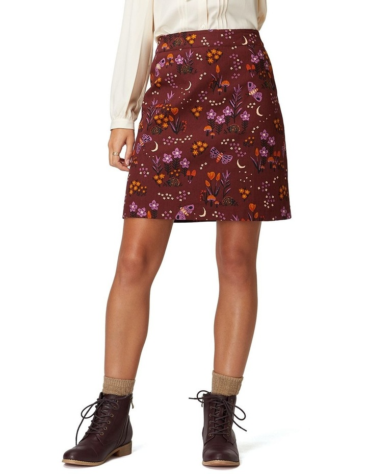 Nocturnal Garden Skirt image 1