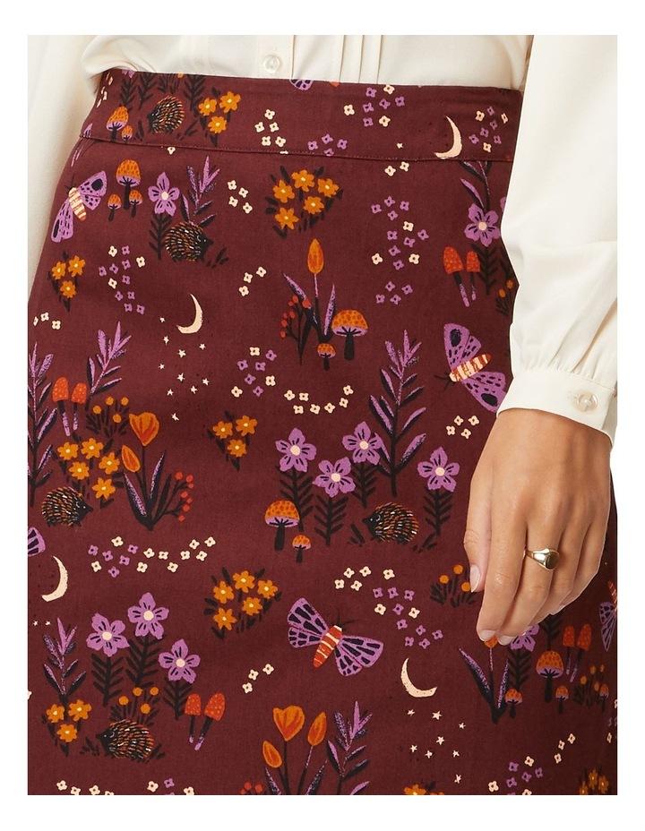 Nocturnal Garden Skirt image 4