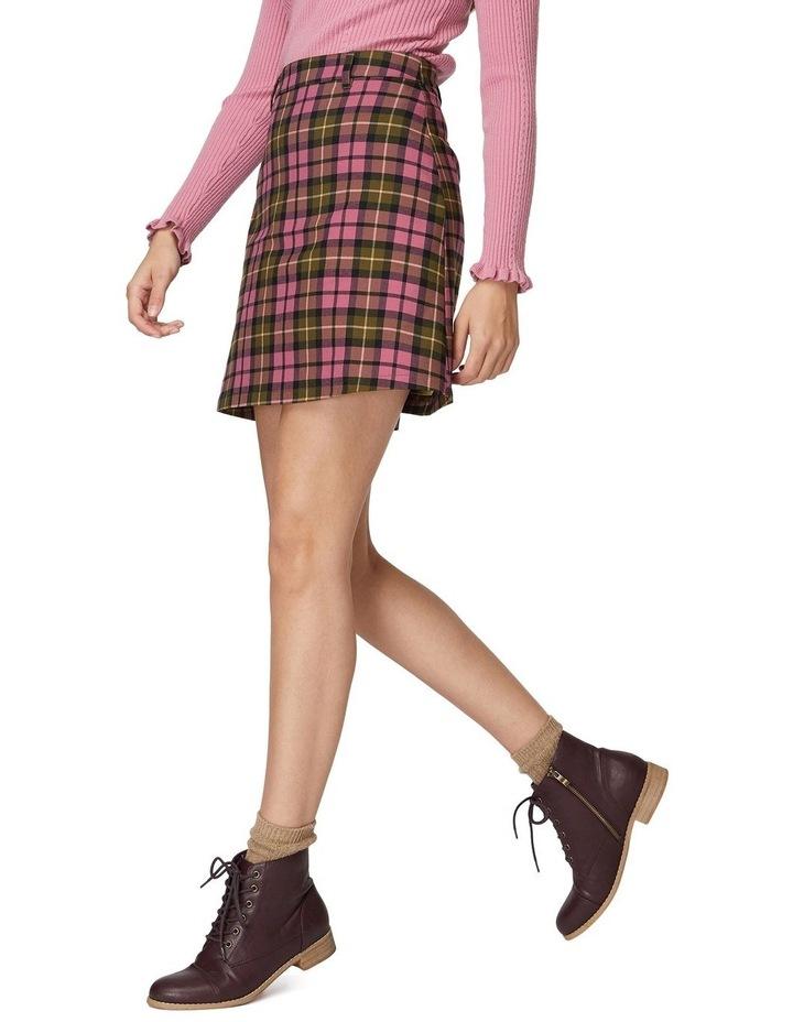 Georgie Check Skirt image 2