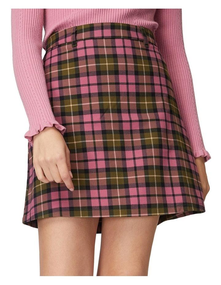 Georgie Check Skirt image 4