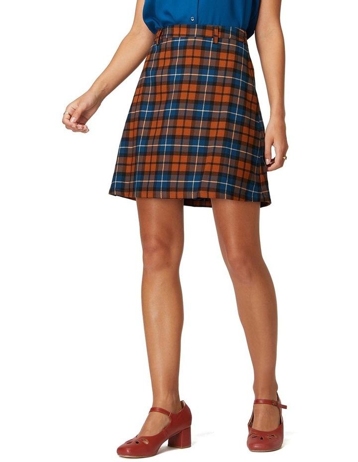 Georgie Check Skirt image 1