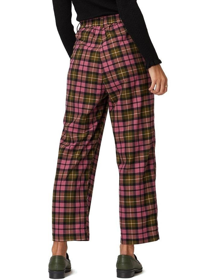 Georgie Check Pants image 3