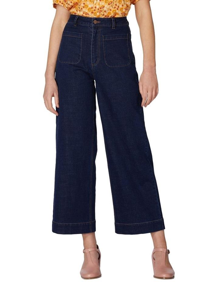 Elena In Spring Jeans image 1